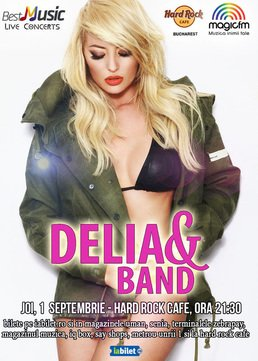 CONCERT: DELIA canta la Hard Rock Cafe