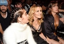 Madonna, in front row la New York Fashion Week