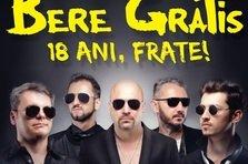 Bere Gratis isi serbeaza majoratul intr-un concert exceptional pe 27 octombrie la Sala Palatului
