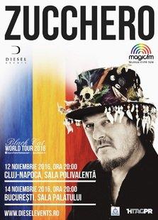 Zucchero in concert la Bucuresti pe 14 noiembrie
