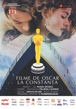 Filme de Oscar in aer liber la Constanta