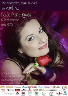 Concert Ambra, Fado Portugues la Ceainaria GreenTea