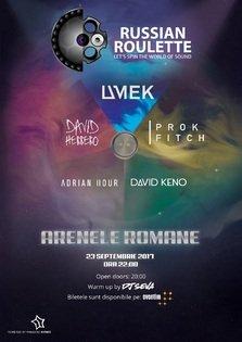 Legendarul UMEK, alaturi de patru DJi internationali,  va juca ruleta ruseasca la Bucuresti!