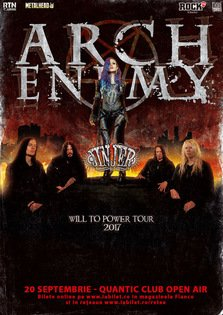 Arch Enemy si Jinjer la Bucuresti: Golden Circle este Sold Out !
