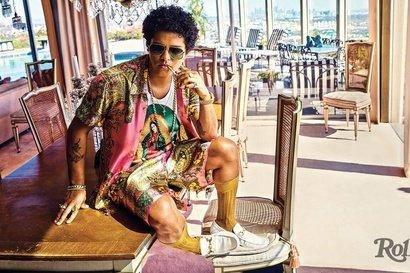 Bruno Mars - Versace on the Floor (videoclip nou)