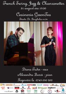 French Swing, Jazz & Chansonettes la Ceinaria GreenTea