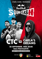 CTC si Carla's Dreams deschid primul Red Bull SoundClash din Romania