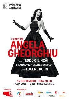 Concert extraordinar sustinut de  soprana Angela Gheorghiu  cu ocazia Zilelor Bucurestiului