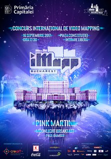 iMapp Bucharest: spectacole de video mapping si concert Pink Martini