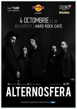 Concert Alternosfera la Hard Rock Cafe