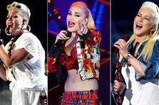 Pink, Gwen Stefani si Christina Aguilera pe acelasi album!