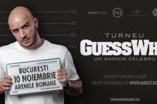 Guess Who va lansa albumul Un Anonim Celebru printr-un concert la Arenele Romane