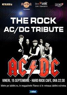 Concert Tribut AC/DC cu THE ROCK la Hard Rock Cafe