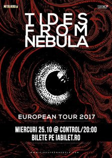 Concert Tides From Nebula la Bucuresti