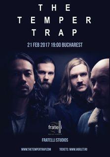 CONCERT: The Temper Trap sustin primul lor concert in Romania