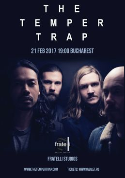 CONCERT: The Temper Trap sustin primul lor concert in Romania