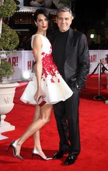 Amal Clooney, vedeta la bursa pariurilor din 2017