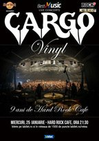 CONCERT: CARGO - Concert & Lansare de Vinyl la Hard Rock Cafe