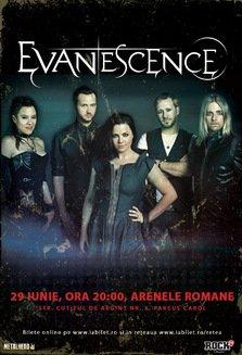 CONCERT: EVANESCENCE in concert la Arenele Romane
