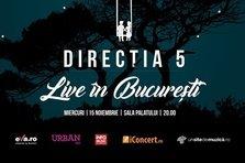 Directia 5 revine la Sala Palatului. Mai este o luna pana la concertul Live in Bucuresti