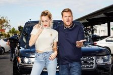Miley Cyrus demonstreaza inca o data ca are voce, la Carpool Karaoke