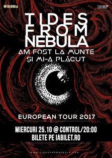 Am Fost La Munte si Mi-a Placut vor canta cu Tides From Nebula la Club Control din Bucuresti