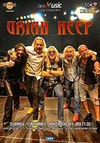 Concert URIAH HEEP pe 12 noiembrie la Hard Rock Cafe din Bucuresti
