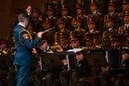 Marele Cor al Armatei Rosii da startul turneului din Romania