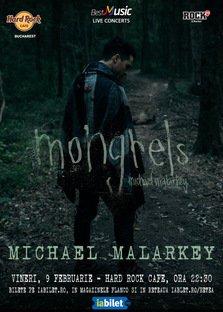 Actorul Michael Malarkey (The Vampire Diaries) in concert la Bucuresti