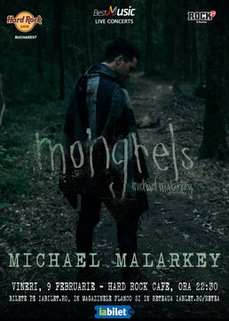 Actorul Michael Malarkey (The Vampire Diaries) in concert la Bucuresti