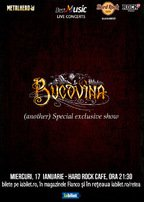 Bucovina special exclusive show la Hard Rock Cafe