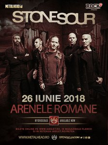 STONE SOUR in concert la Bucuresti