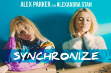 Alex Parker  & Alexandra Stan- Syncronize (videoclip nou)