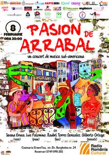 Pasion de Arrabal – concert de muzica sud-americana