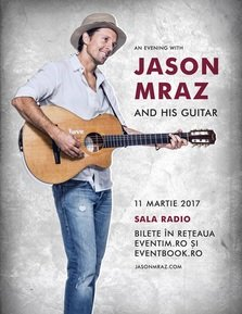 Jason Mraz in concert la Bucuresti