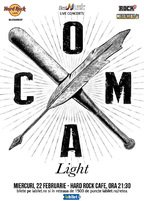 CONCERT: Coma Light - Concert Acustic la Hard Rock Cafe