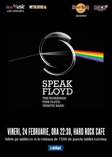 CONCERT: Tribut Pink Floyd cu Speak Floyd la Hard Rock Cafe