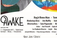 Noi nume la prima editie Awake Festival