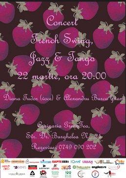 French Swing, Jazz & Tango cu Diana Tudor si Alex Burca