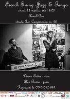 Concert French Swing – Jazz & Tango, vineri, 17 martie, ora 19:00 @Puro&Bio