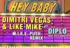Remixul lunii: Dimitri Vegas & Like Mike vs. Diplo feat. Deb's Daughter - Hey Baby (M.I.K.E. Push Remix)