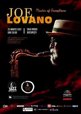 Joe Lovano,  pentru prima oara in Romania