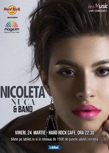 Concert Nicoleta Nuca la Hard Rock Cafe