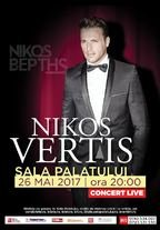 Nikos Vertis Live la Sala Palatului