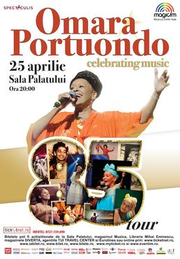 Ritmuri cubaneze si parfum de havana cu Omara Portuondo in concertul aniversar de la Bucuresti