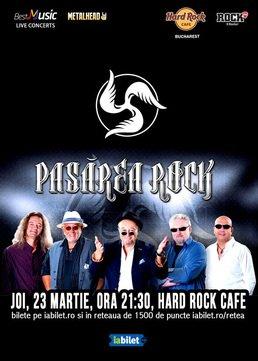 Concert Pasarea Rock la Hard Rock Cafe