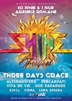 Three Days Grace si Subcarpati vor canta la Shine Festival 2017