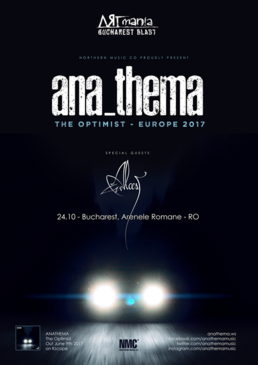 Anathema @ ARTmania Bucharest Blast