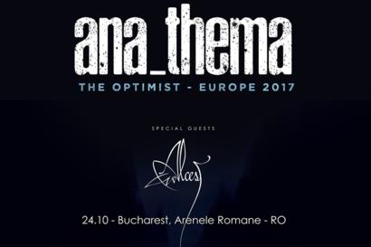 Anathema canta la ARTmania Bucharest Blast