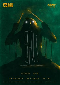 Black Rhino Music pres. B.A.U. (TM) / Dubase (BH) / 031R (B)